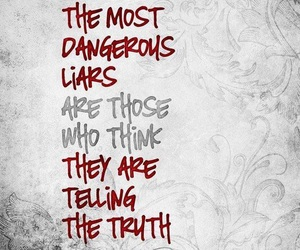 dangerous, lies, and people image