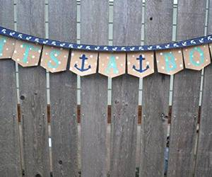 nautical, its a boy, and baby boy shower image