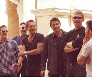 supernatural, misha collins, and mark pellegrino image