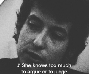 quote and bob dylan image