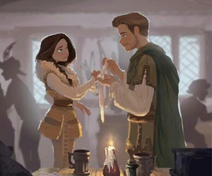 once upon a time, robin hood, and outlaw queen image