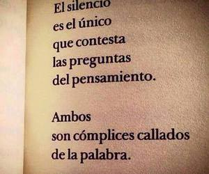 silence, book, and frases image