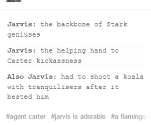 howard, jarvis, and Marvel image
