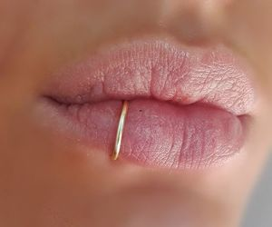 lips and piercing image