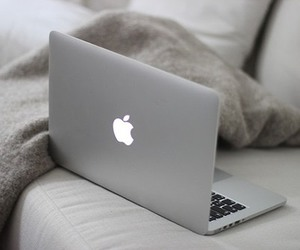 apple, laptop, and macbook image