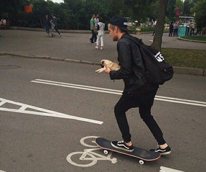 black, skate, and tumblr image