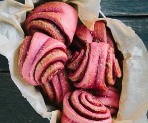 bread, recipe, and cinnamon roll image