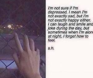 sad, depressed, and smile image