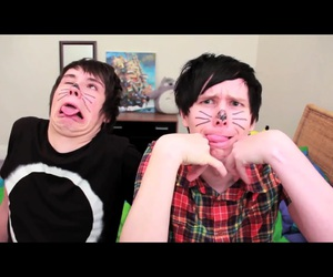 amazingphil, danisnotonfire, and phil lester image