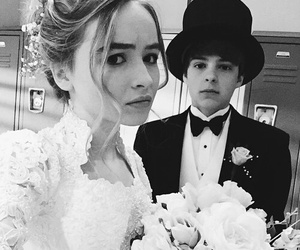 sabrina carpenter, girl meets world, and corey fogelmanis image