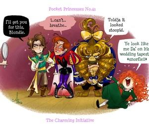 disney, merida, and pocket princesses image