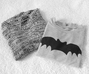 fashion, batman, and sweater image