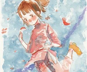 chihiro, el viaje de chihiro, and ogino chihiro image