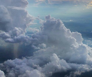aesthetic, clouds, and pastel colours image