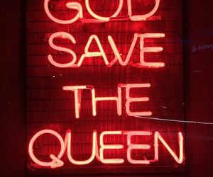 god, Queen, and save image