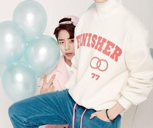 youngjae, daehyun, and bap image