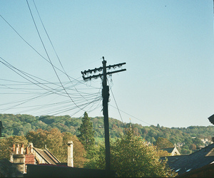 35mm, countryside, and electricity image