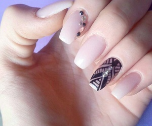 nails, art, and fitness image