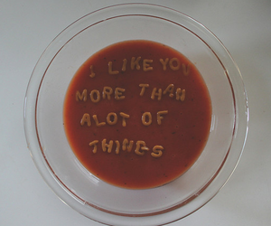 soup, quotes, and food image