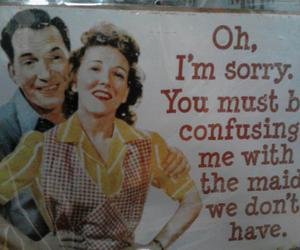 50's, funny, and marriage image