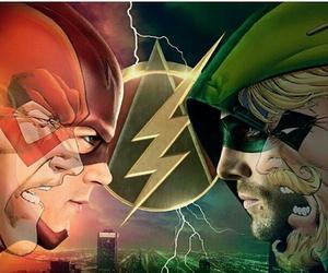 arrow, dc comics, and the flash image