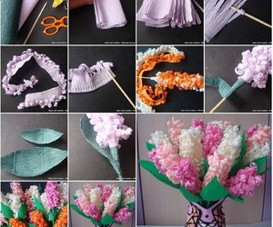 paper flowers, diy projects, and diy paper flowers image