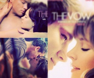 the vow, couple, and movie image