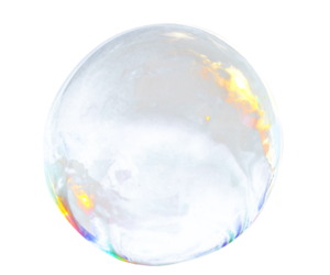 bubble and transparent image