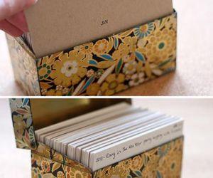 box, date, and diy image