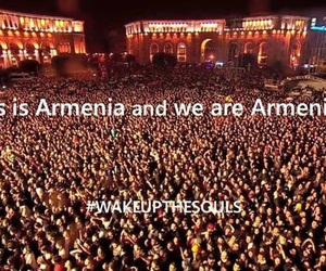 armenia, soad, and armenian genocide image