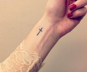 tattoo and cross image