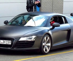 audi r8, gris, and luxe image