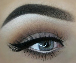 beautiful, makeup, and eyeliner image