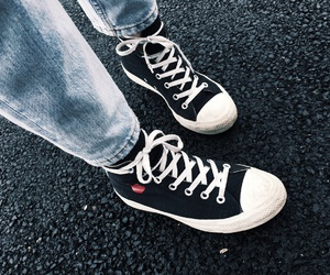 converse, old school, and fashion details image