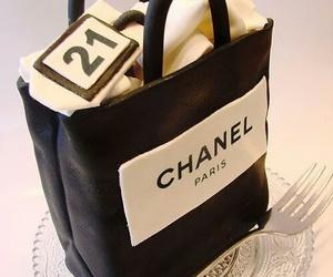 cake, chanel, and bag image