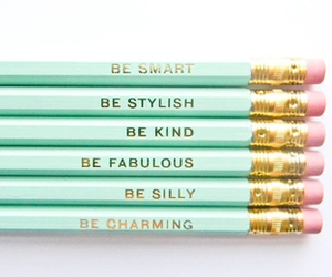 pencil, smart, and fabulous image