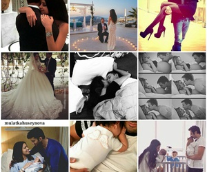 baby, pregnant, and wedding image