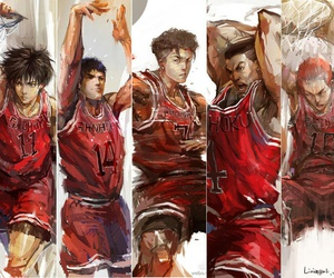 anime and slam dunk image