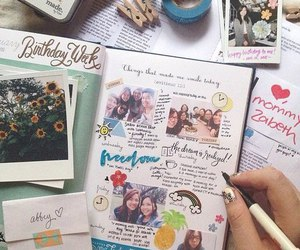 diary and art image