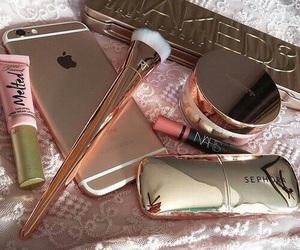 makeup, technology, and makeup items image