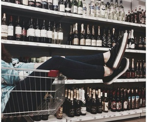 alcohol, champagne, and teenager image