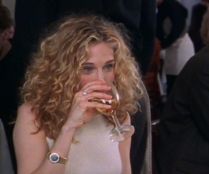 Carrie Bradshaw, sex and the city, and sarah jessica parker image