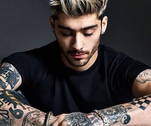 zayn malik, zayn, and tattoo image