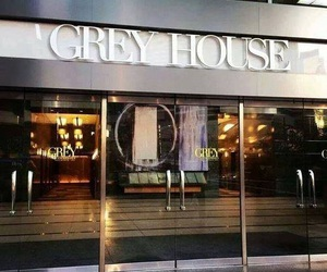 fifty shades of grey, christian grey, and grey house image