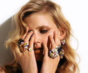 girl, model, and rings image