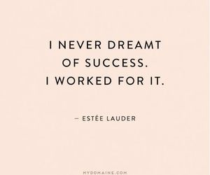 quotes, success, and work image