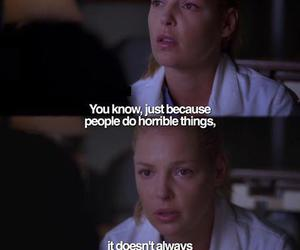 greys anatomy, quote, and sadness image