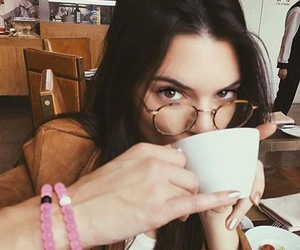 coffee, girls, and glasses image
