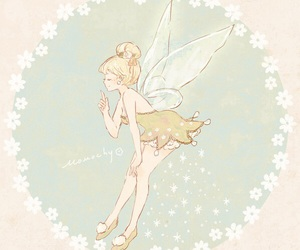 disney, art, and tinker bell image