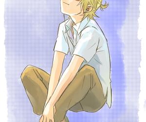 kawaii, vocaloid, and kagamine image